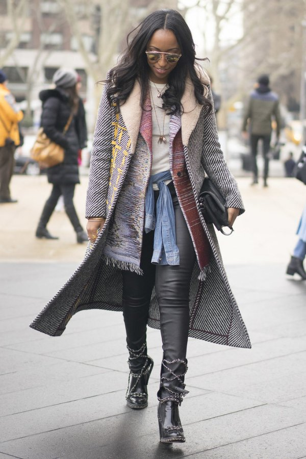 Fabulous street style photos from new york fashion week fall 2015 Street style ny fashion week fall 2015