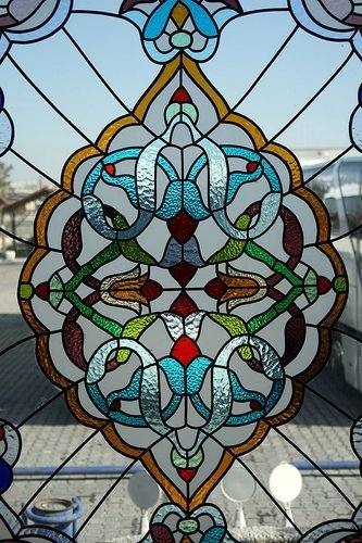 Stained Glass Window In A Turkish Rest Stop 43 Examples Of