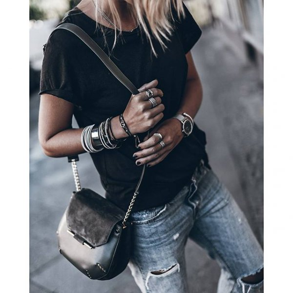 clothing, footwear, sleeve, t shirt, leather,