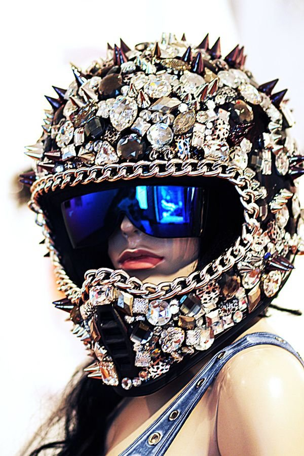 Dirt Bike Helmet 28 Totally Awesome Things You Can Bejewel At