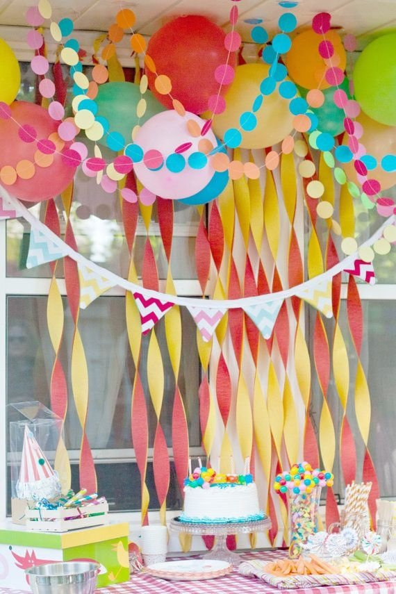 Paper Chains 46 EyeCatching Party Decorations for Your Next