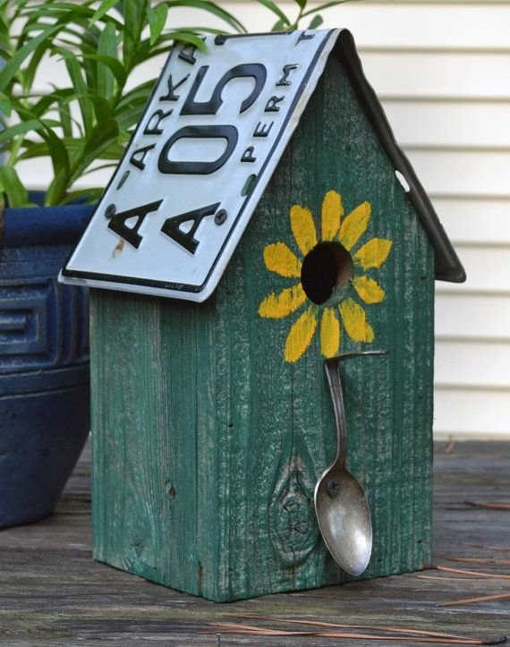 Recycled Materials 62 Absolutely Fantastic Birdhouses To