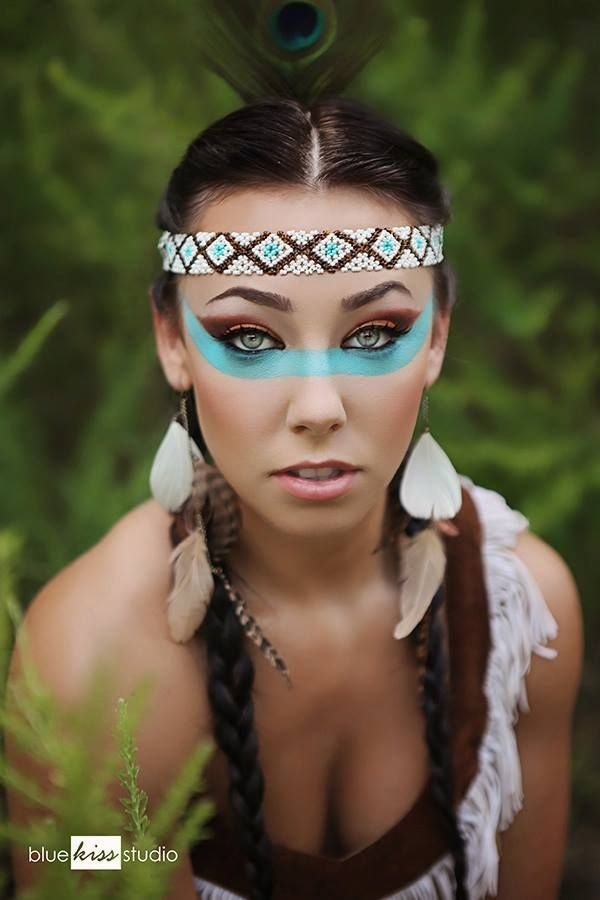 Pocahontas Face Painting Ideas
