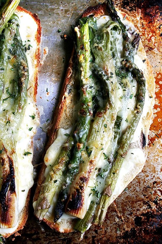 Tartine with Asparagus and Spring Onions - Tartine Recipes for All ...