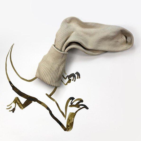 Sock-a-Saurus Rex