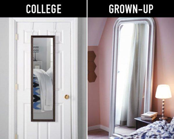 Swap Your Door Mirror for a Floor Mirror