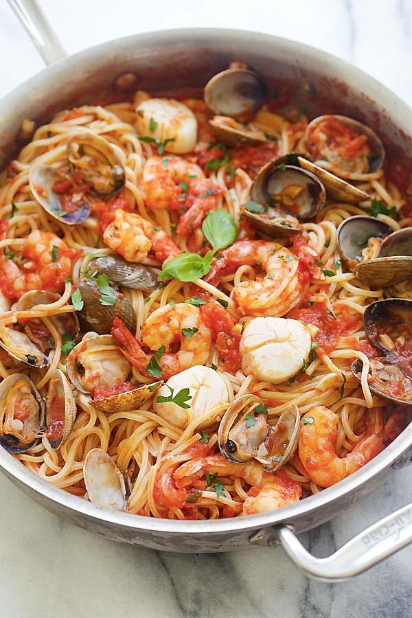 dish, food, spaghetti, italian food, cuisine,