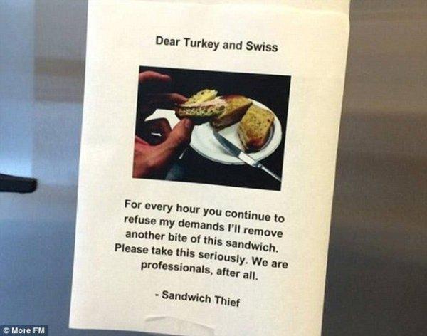 A Sandwich Saga