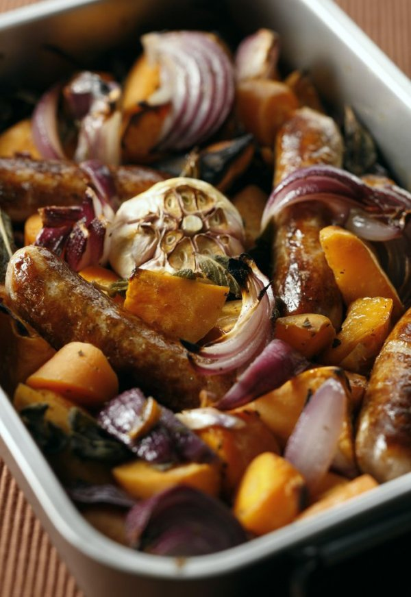 Oven-roasted Sausage Tray