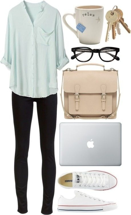 Lazy Day - These Spring Outfits Are PERFECT for School