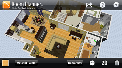 Room planner 8 free apps for home decorating and design for Room design app for mac