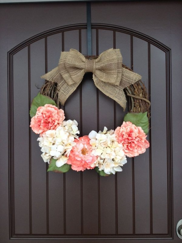 hang with a ribbon 55 awesome wreaths to adorn your front door