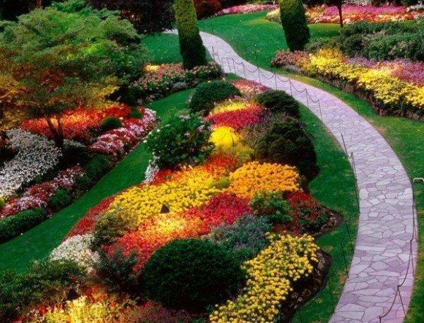 A path 46 fun ideas for your little flower garden for Little flower garden ideas