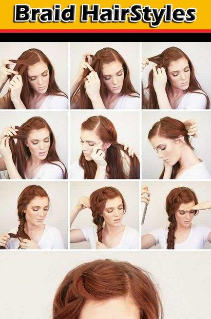 Прически на каждый день средние волосы пошагово