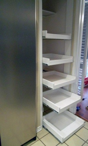35 Make Your Own Pull Out Pantry Drawers Shelfies The