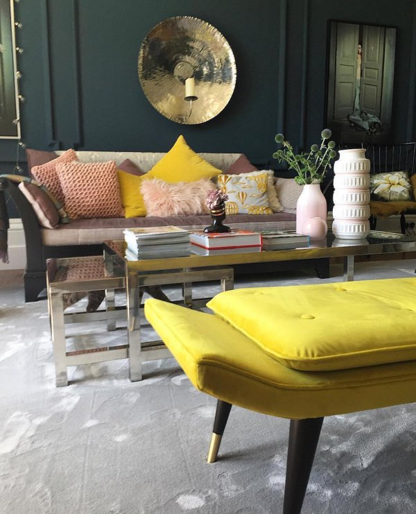 furniture, yellow, table, living room, interior design,