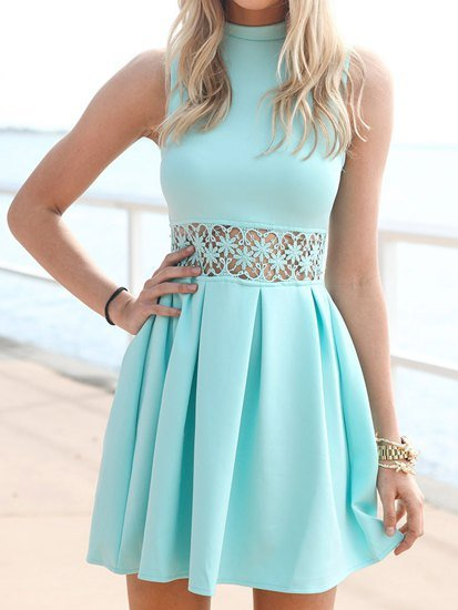 dress,clothing,day dress,bridal party dress,turquoise,