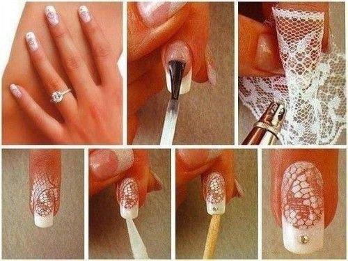 Lace Nails