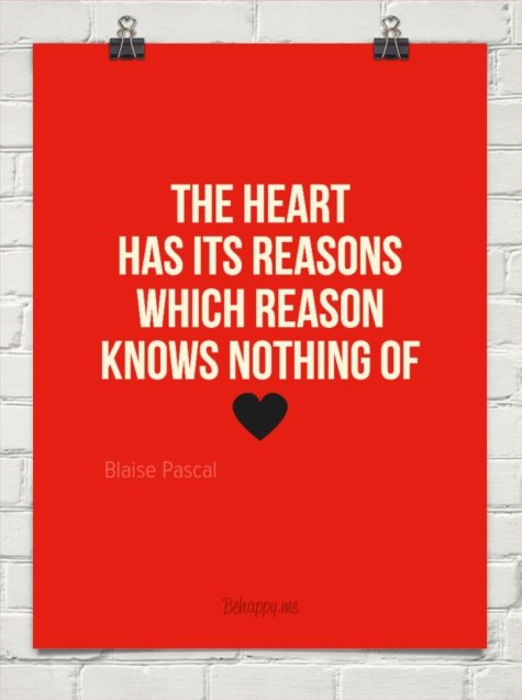 The Heart and Reason