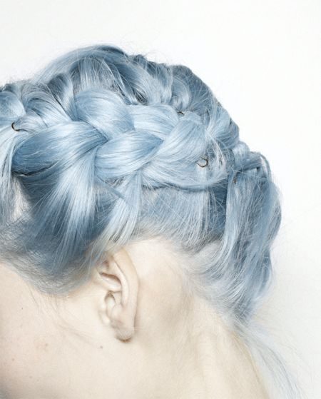 Could You Rock Granny Hair? These Grey