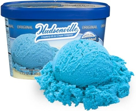 32. Blue Moon Ice Cream - 46 Things That Show the Beauty of Blue ...