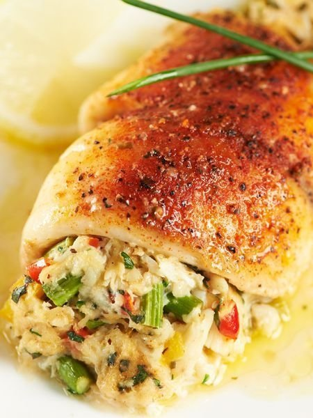 26 tasty and healthy tilapia recipes you should cook for Stuffed fish with crab meat