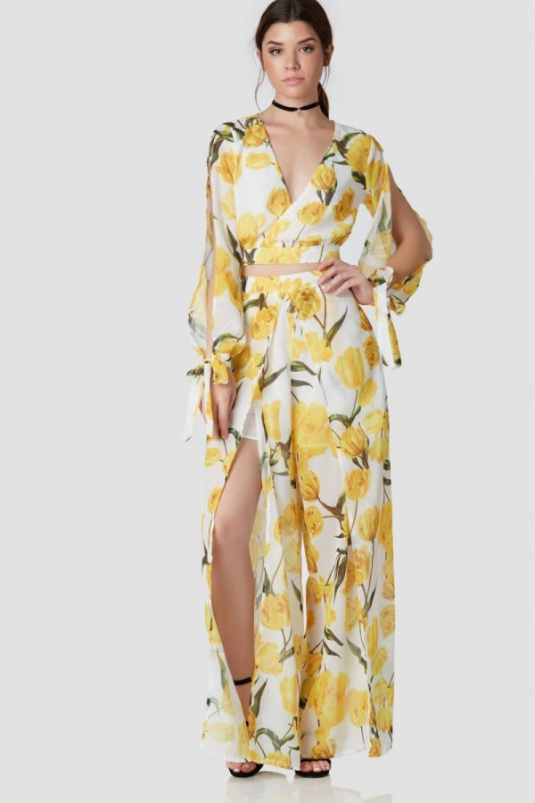 clothing, day dress, yellow, dress, gown,