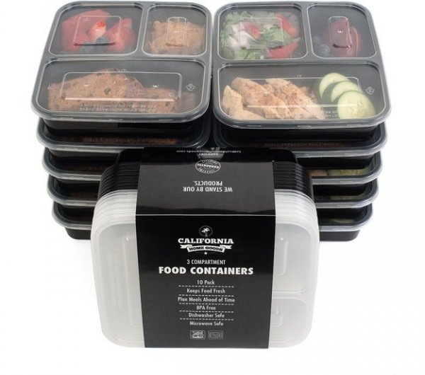 Reusable Food Prep Containers