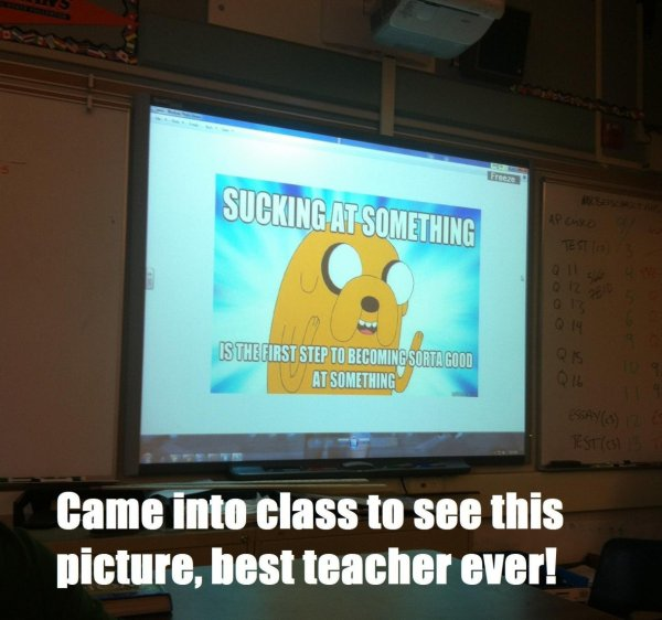 Coolest Teacher Ever!