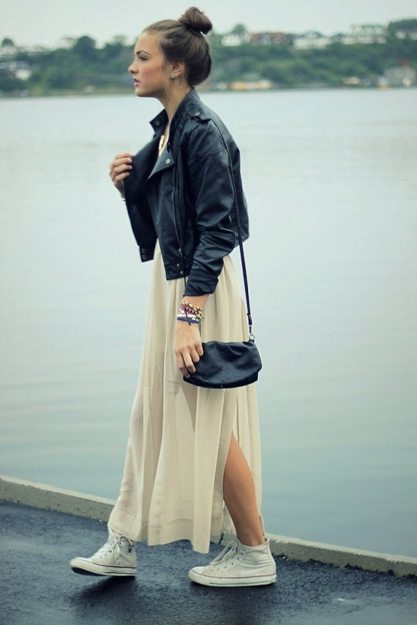 fashionable streetstyle ways to wear converse and
