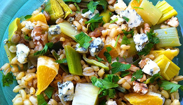 Kamut-Berry Salad