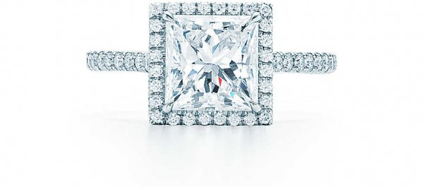 Tiffany Soleste® Princess Cut