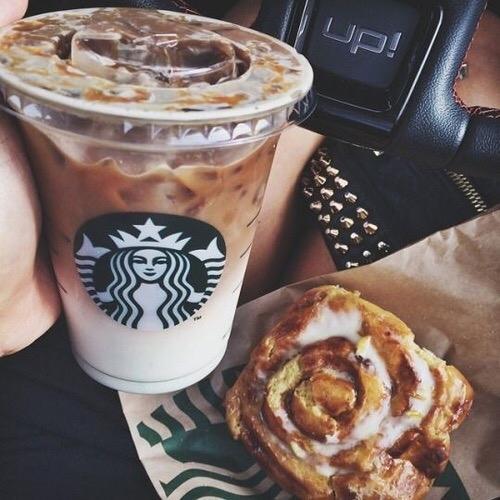 Starbucks, cappuccino, meal, dish, food,