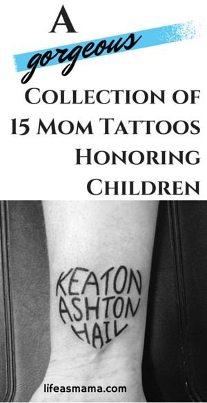 tattoos that let you show your love to anyone anytime ForTattoo Ideas To Honor Children