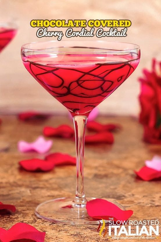 37 delicious valentine 39 s day drinks for all ages for Mix drinks with wine