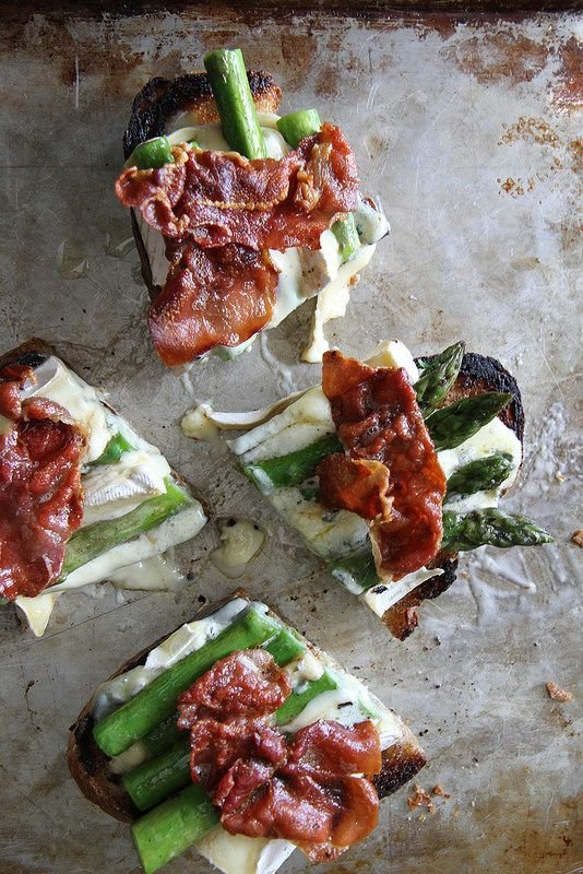 Avocado Asparagus Tartine Recipes — Dishmaps
