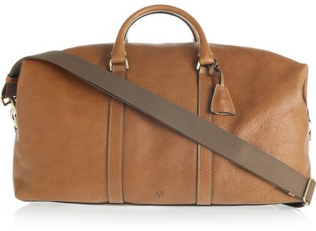 Mulberry Leather Weekend Bag