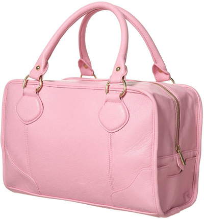 Topshop Pink Colour Drench Holdall