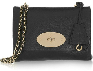 Mulberry Lily Leather Shoulder Bag - 9 Classic Looking Chain Strap…