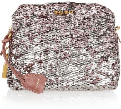 Miu Miu Sequin Bag
