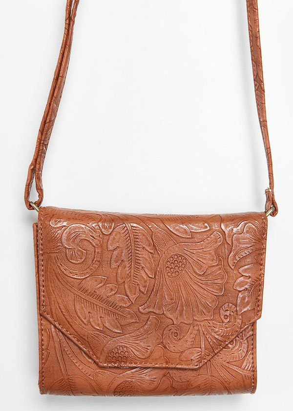 Leather Tool Tote Bags Tooled Leather Crossbody Bag