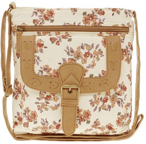 Floral Cross Body Bag