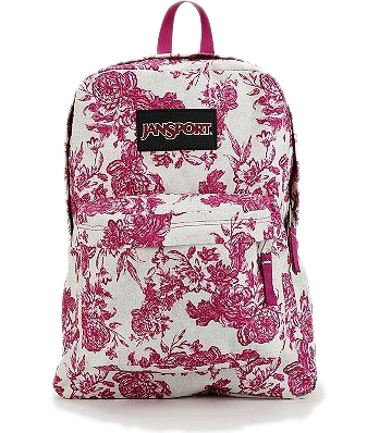 Jansport Etoile Floral Print Backpack - 7 Cute and Functional…