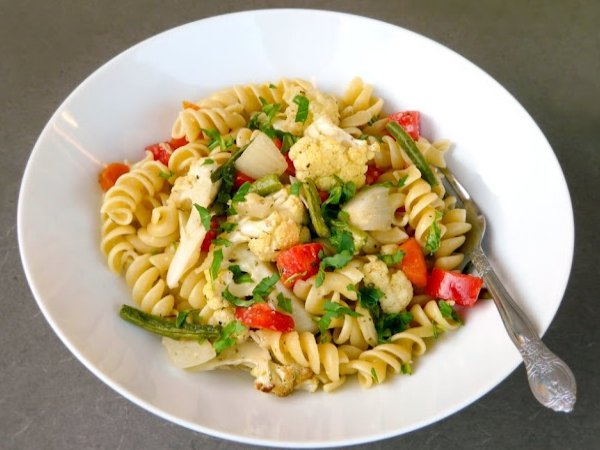 food, dish, produce, fusilli, vegetable,