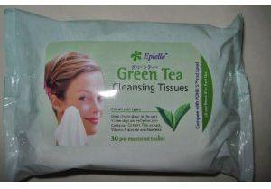 Epielle Green Tea Cleansing Tissues