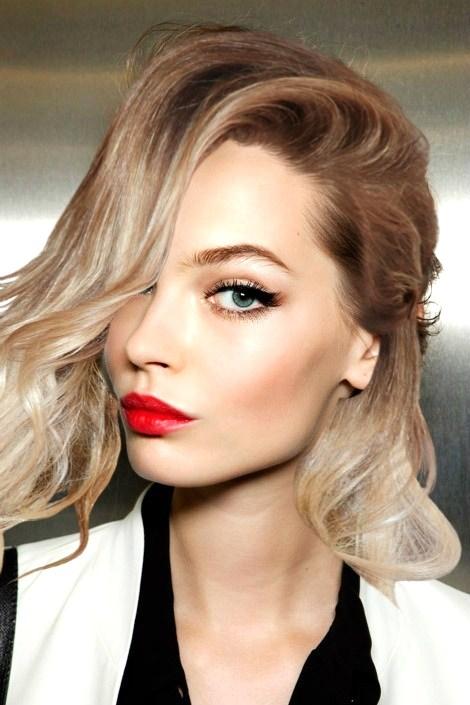 Фото макияжа для русых волос
