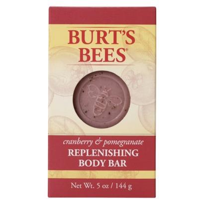 Burt's Bees Replenishing Body Bar in Cranberry & Pomegranate