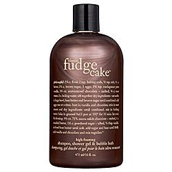 Philosophy Classic Fudge Cake Shampoo, Shower Gel & Bubble Bath