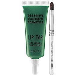 Obsessive Compulsive Cosmetics Lip Tar in Chlorophyll