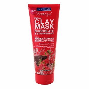 Freeman Feeling Beautiful Facial Clay Mask in Chocolate & Strawberry